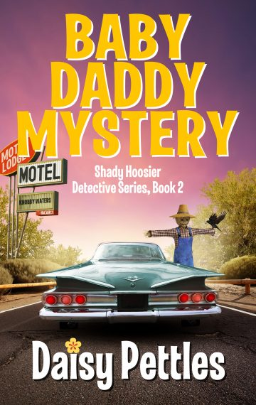 Book Cover Baby Daddy Mystery by Daisy Pettles