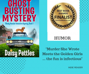 GHost Busting Mystery Wins Best Humor Book Award