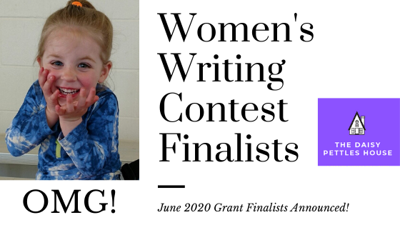 writing contest for women june 2020 finalists | daisy pettles house